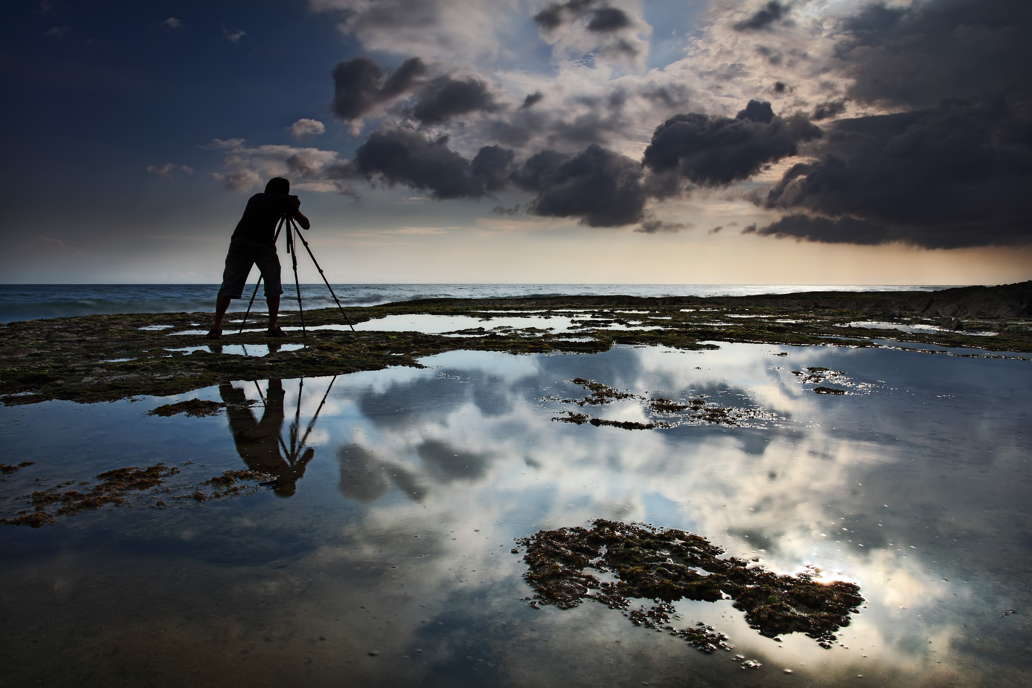 Photograph Reflection & Photographer by Rollando  Roeslan on 500px