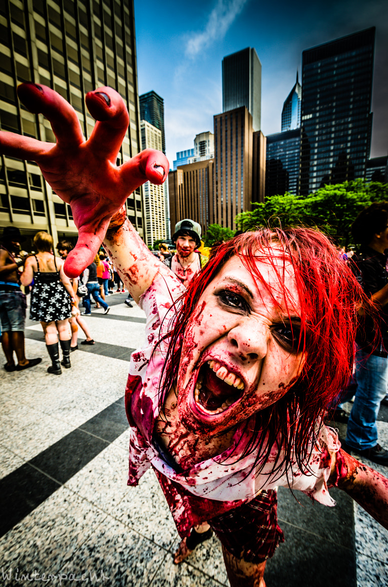 Photograph Zombie by Raf Winterpacht on 500px