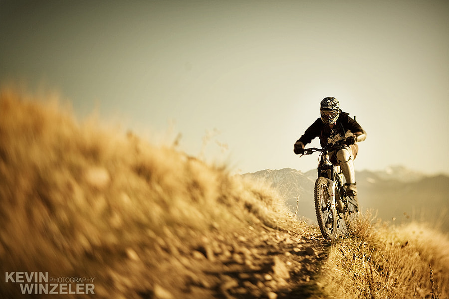 Photograph Mountain Bike the Wasatch by KevinWinzeler.com  ~ sports, lifestyle on 500px