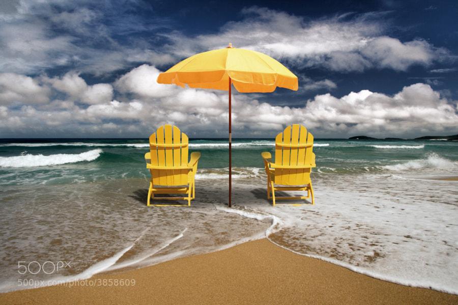 Beach Therapy - Magazine cover