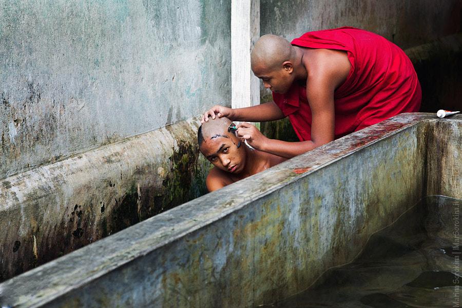 Monk's morning |  Утро в монастыре
