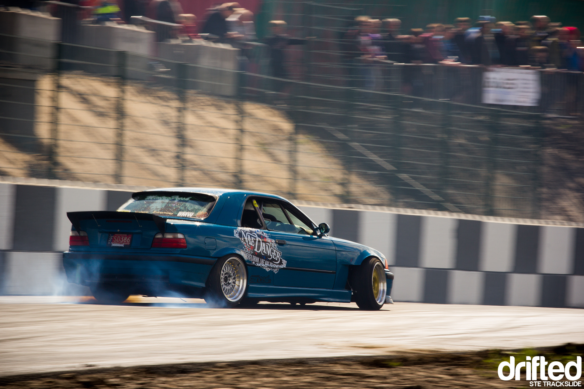 Photograph Running the wall drift e36 convertable, chizfab, driftland by Ste Trackslide on 500px