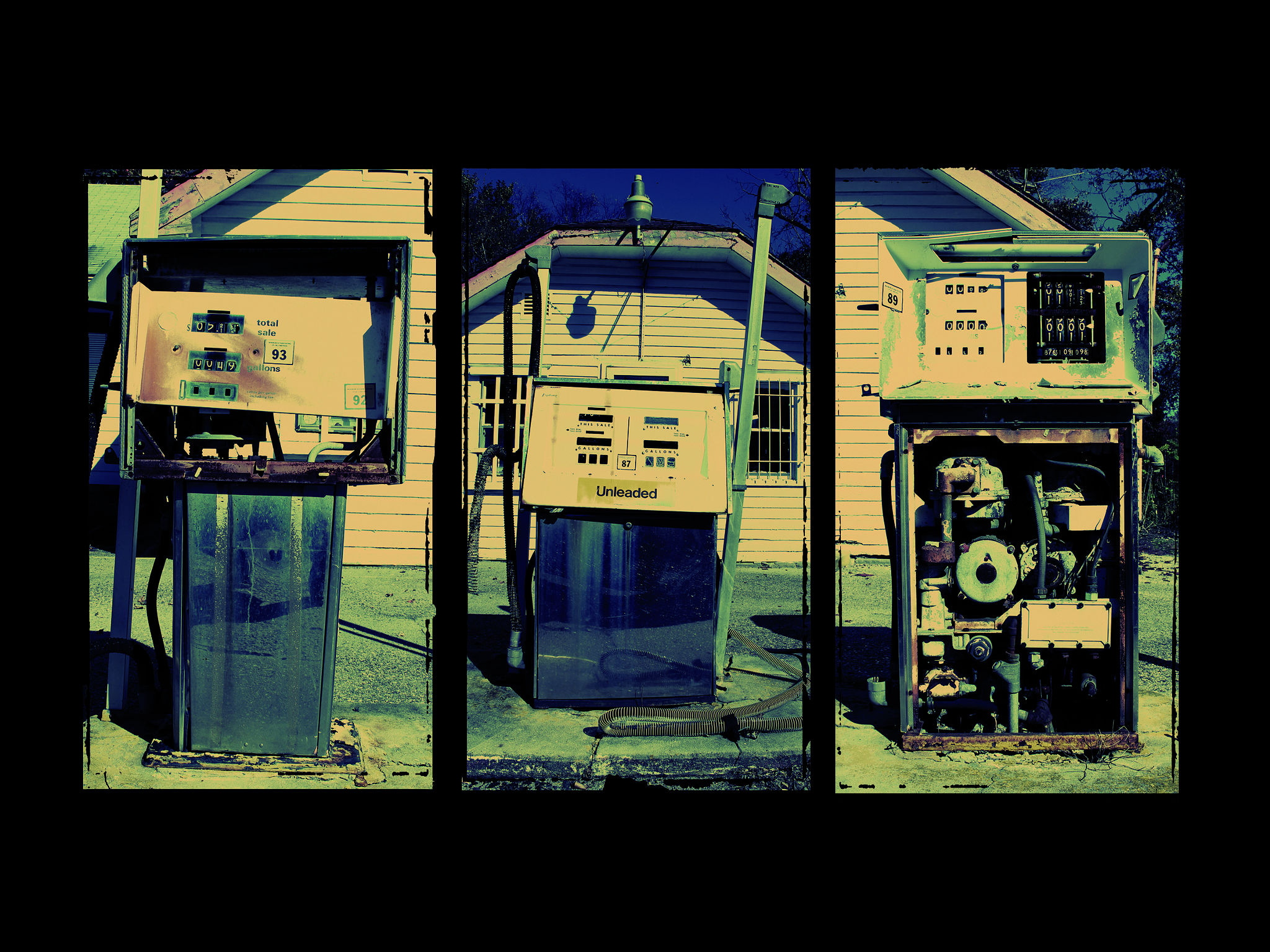 Photograph Unleaded by Nathan  Szwerdszarf on 500px