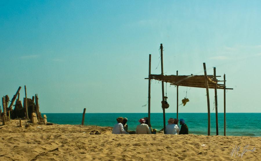 beach talks...