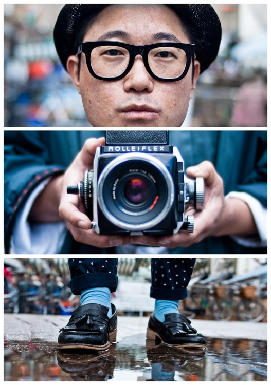 Photograph Triptychs of Strangers #20/28, The Analog Lover - London by Adde Adesokan on 500px