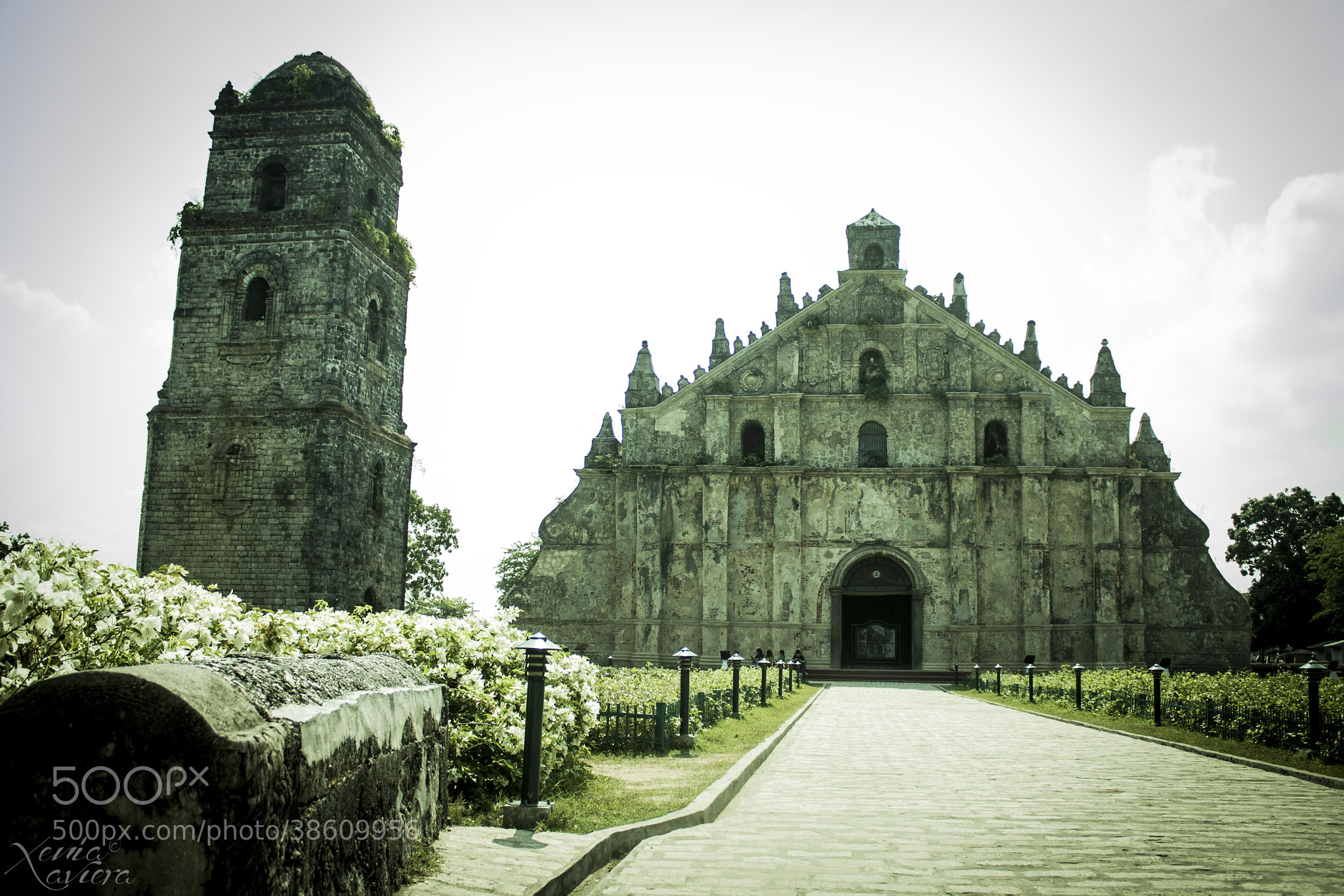 Photograph PAOAY CHURCH by Xenia Xaviera on 500px