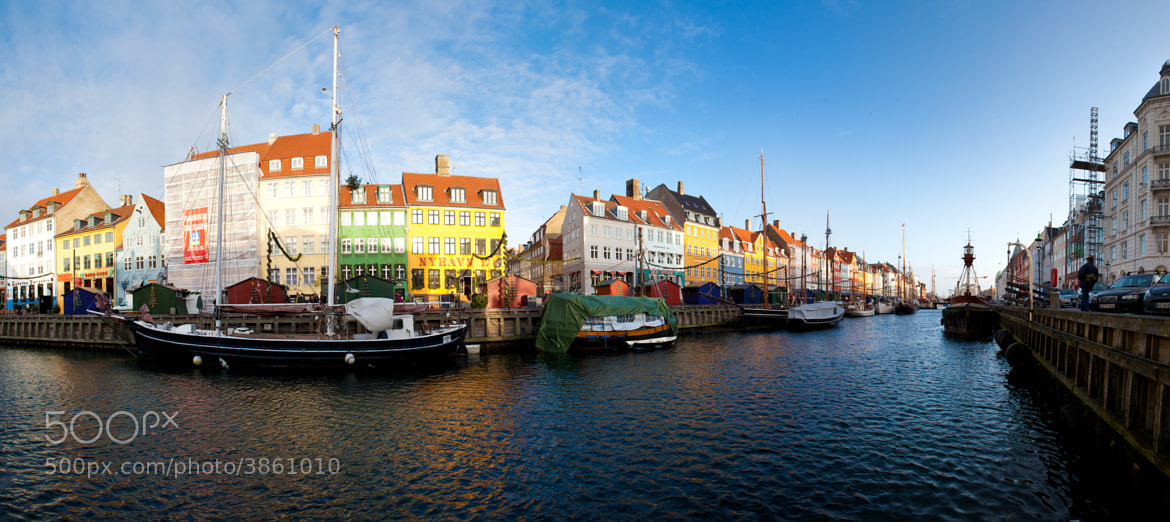 Photograph New Morning over Nyhavn by Yves  LAMBERT on 500px