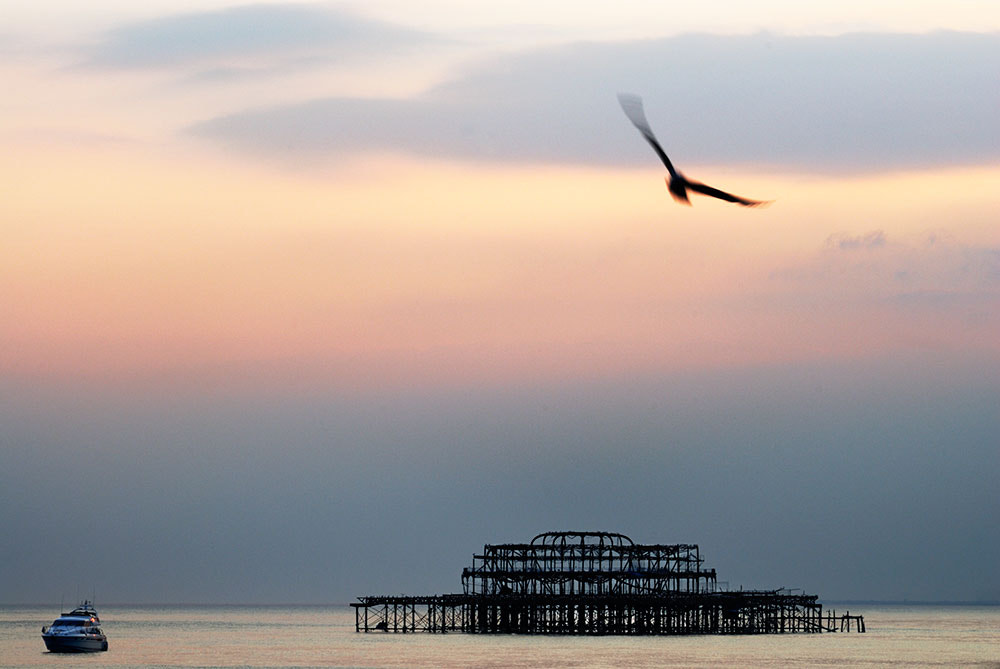 Photograph West Pier, Brighton.. by Tony  on 500px