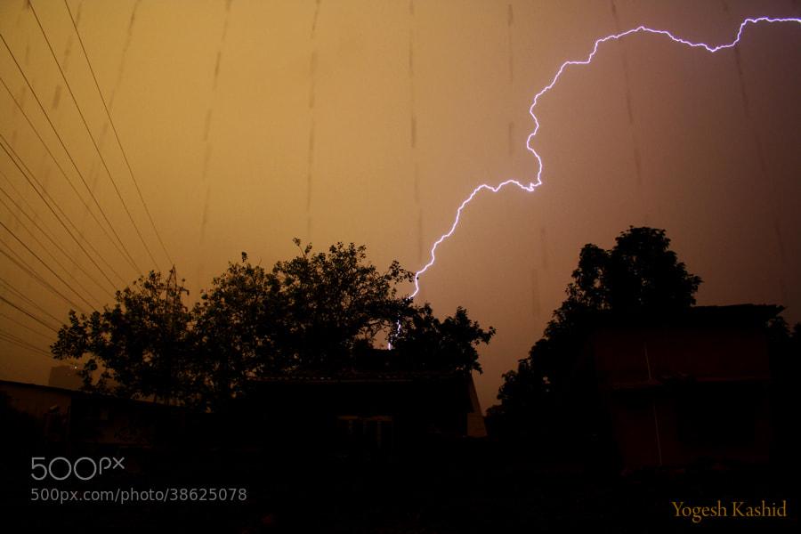Photograph Rain with Light by Yogesh Kashid on 500px