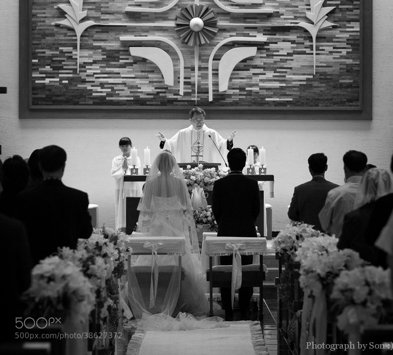 Photograph Holy Marrige  by Hansol Son on 500px