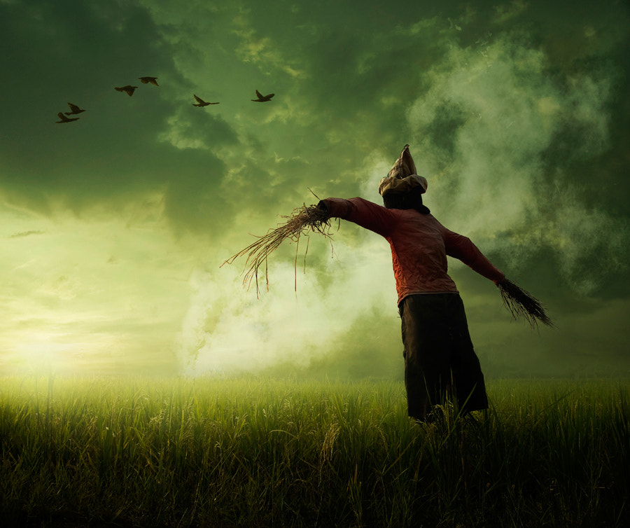 Photograph Scarecrow by Ketut Manik on 500px