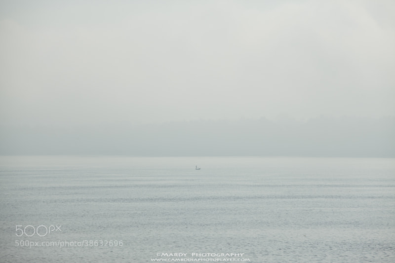 Photograph Fisherman in the foggy! by Mardy Photography on 500px