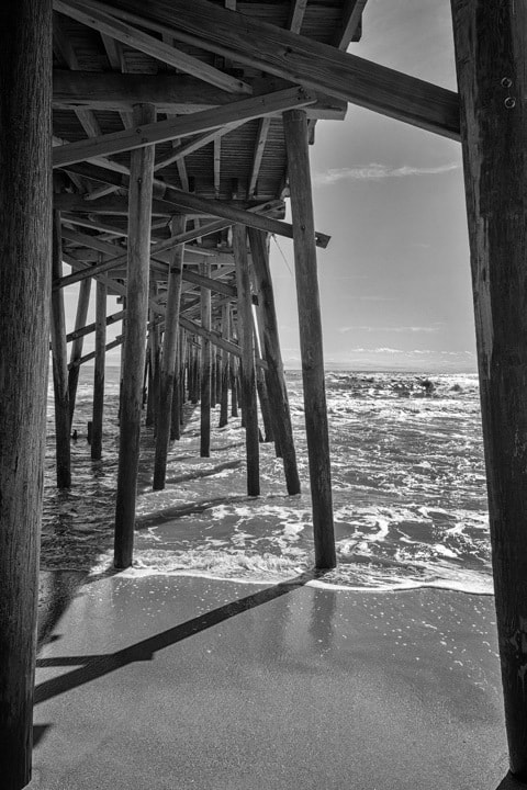 Photograph Under Flagler Beach Pier by Stacy White on 500px