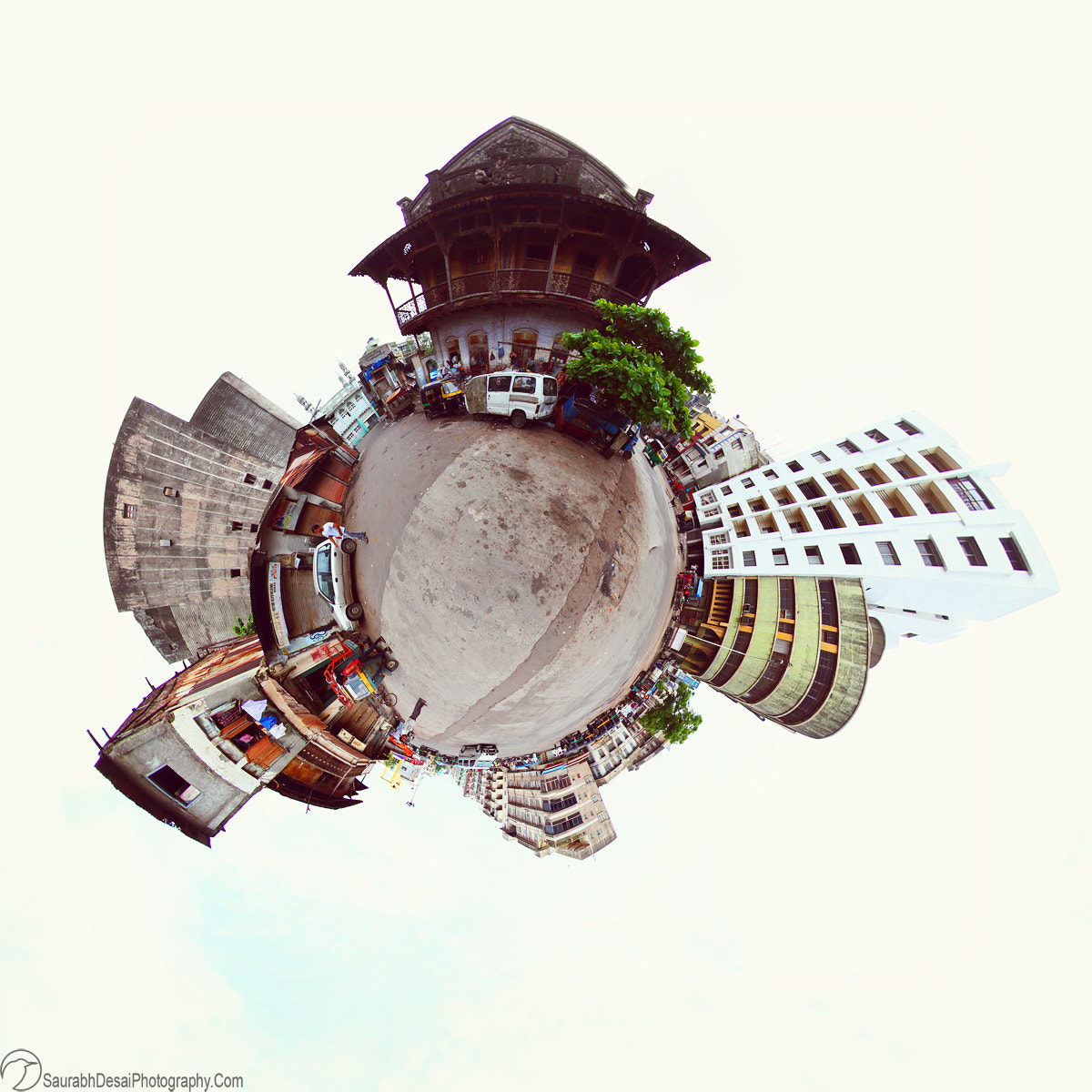 Photograph Surat city at 360 degree by Saurabh Desai on 500px
