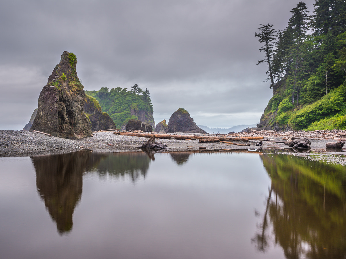 Photograph Ruby Beach Reflections by Stevan Tontich on 500px