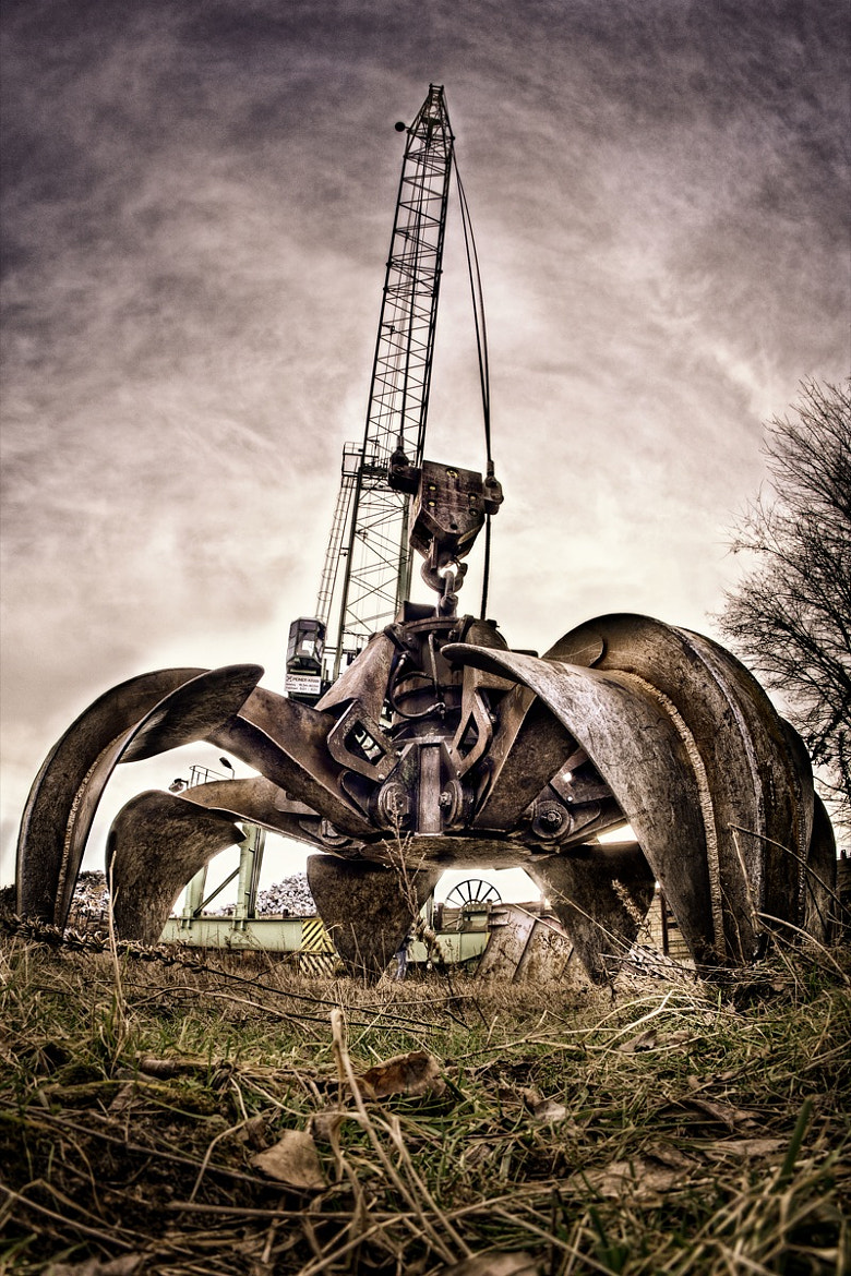 Photograph Scrapyard Octopus by Jonas Ginter on 500px