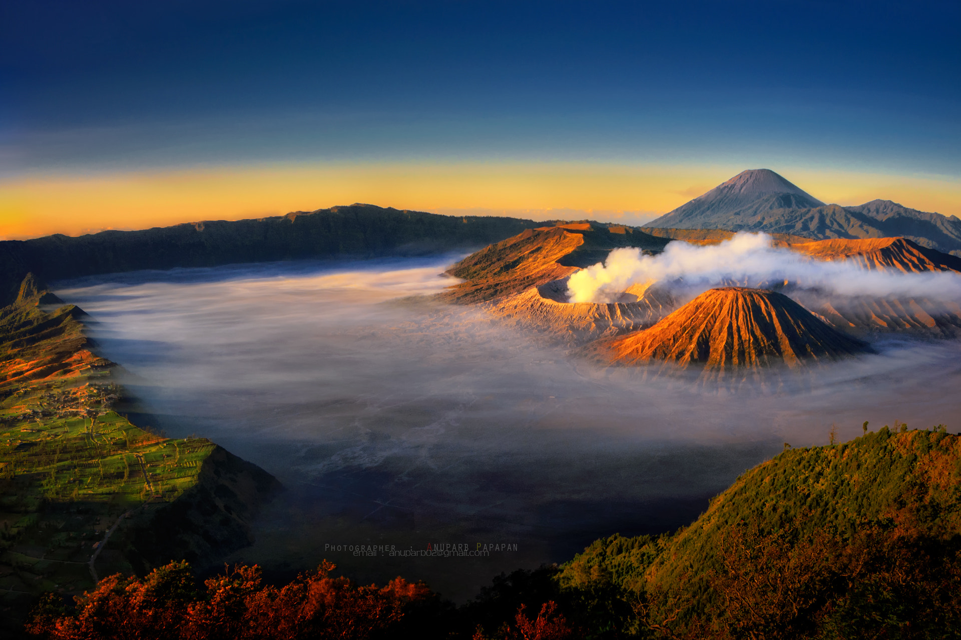 Photograph Good Morning Mt. Bromo by Anuparb Papapan on 500px