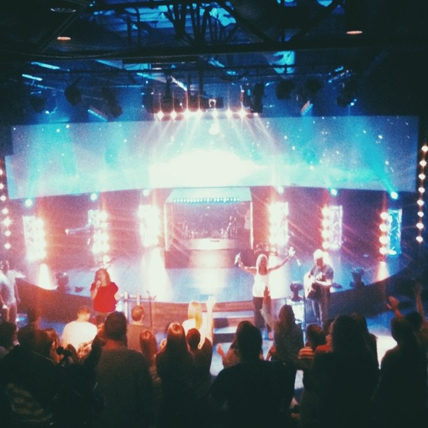 Photograph Staff meeting worship was amazing this morning! by Rigel St. Pierre on 500px