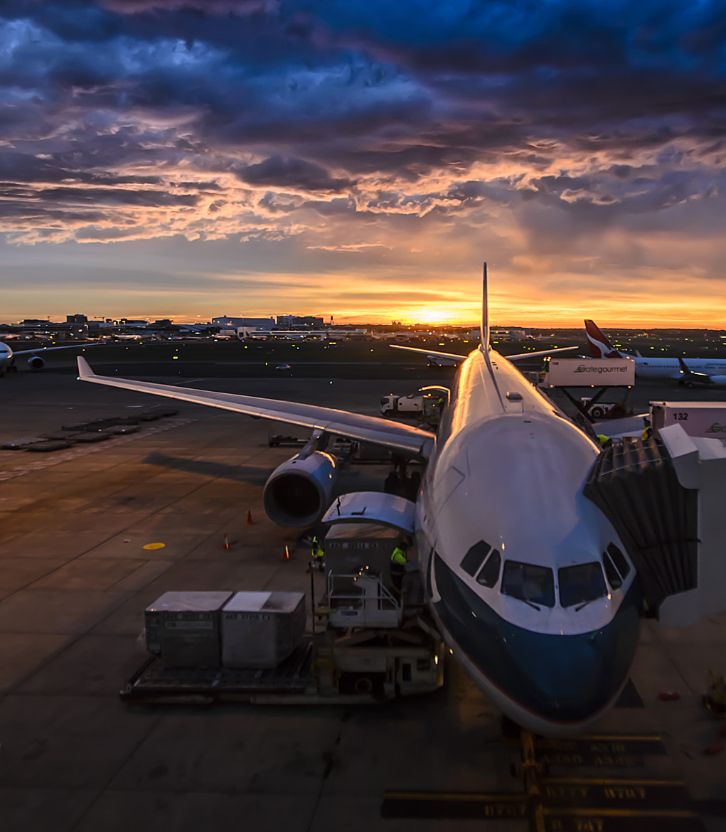 Photograph Airport sunrise by Martijn Barendregt on 500px