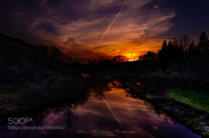 Photograph Mountain Sunset  by Julz Kirschenbaum on 500px