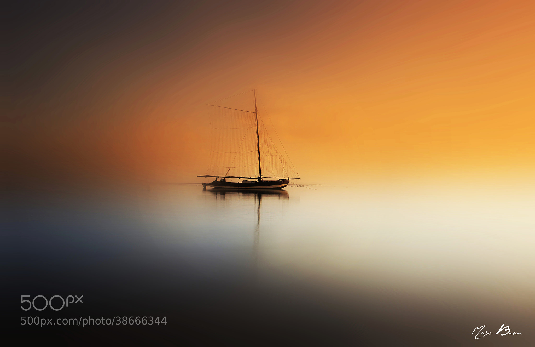 Photograph Ghost Ship by Max Brun on 500px