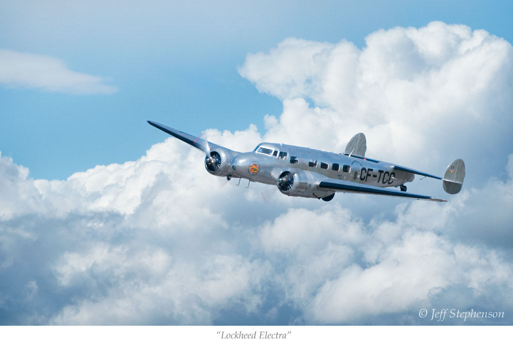 Photograph Lockheed Electra by Jeff Stephenson on 500px