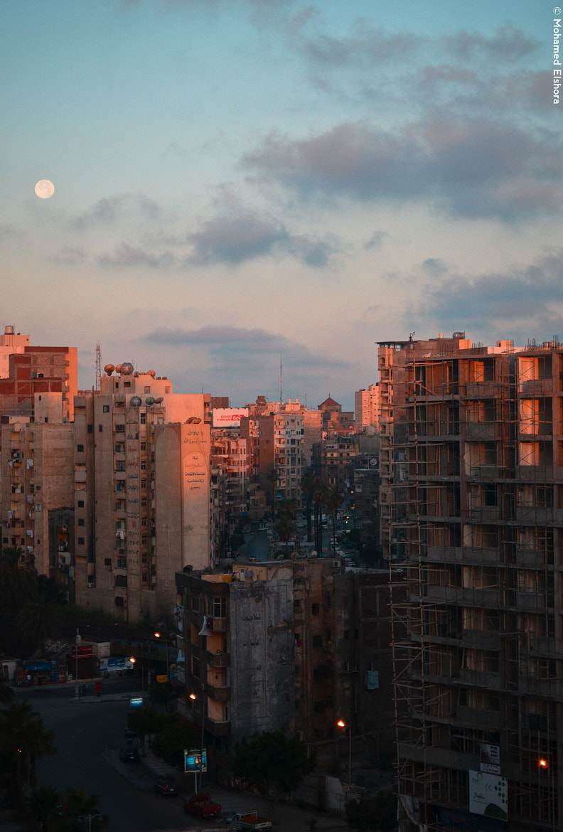 Photograph moring moon by Mohamed Elshora on 500px