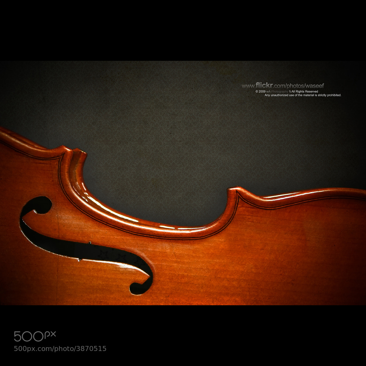 Photograph Violin by Waseef Akhtar on 500px