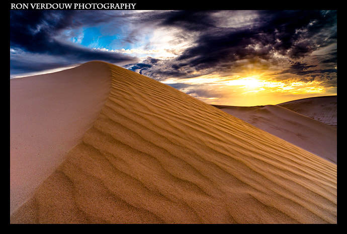 Photograph Amazing Dune Sunset by Ron Verdouw on 500px