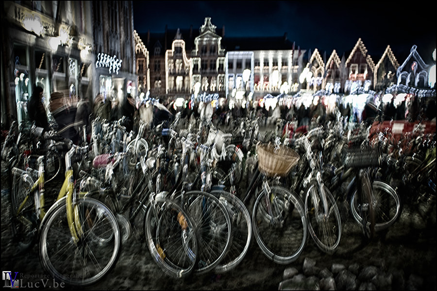 Photograph Dancing bikes by Luc V.. on 500px