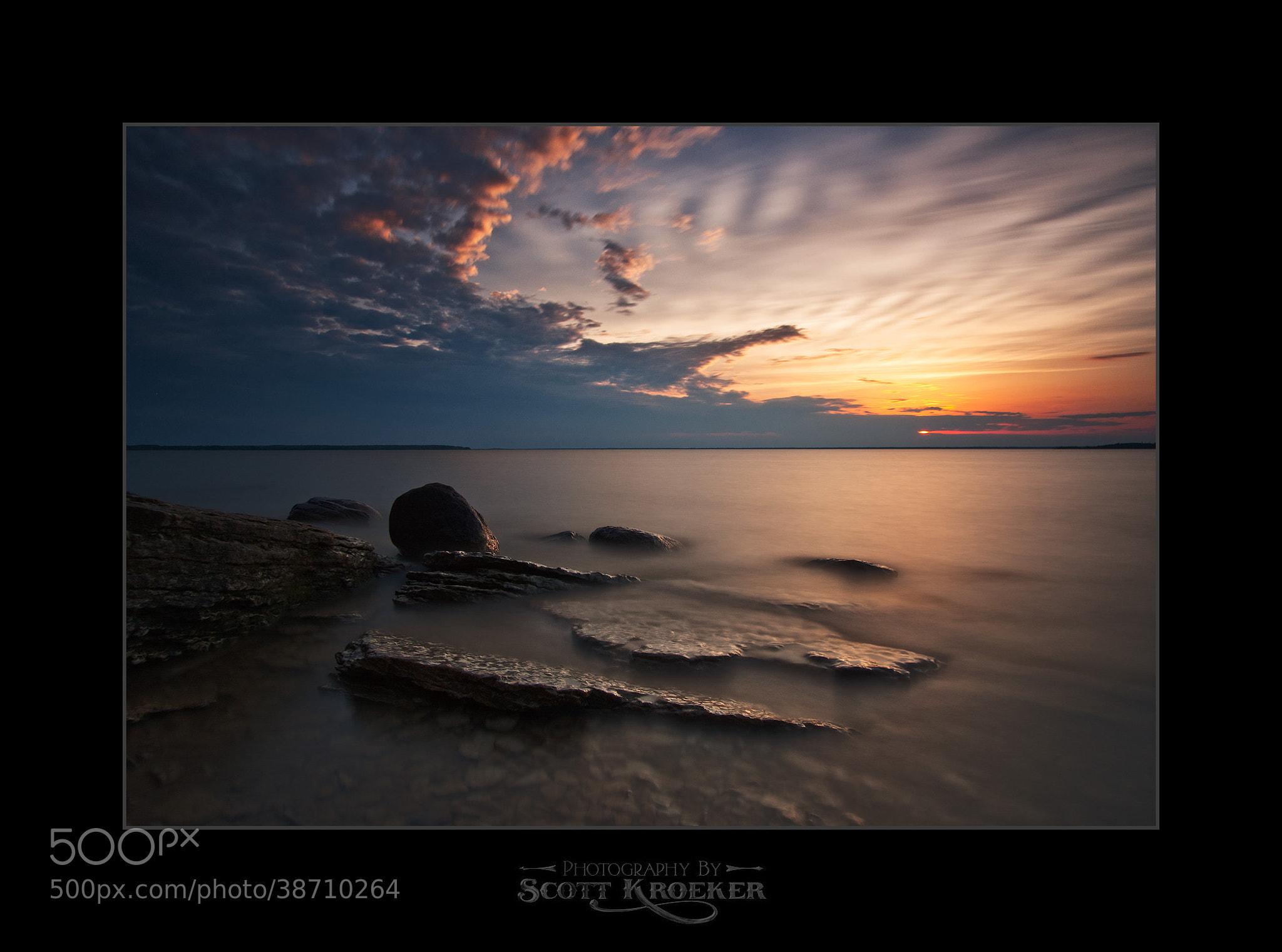 Photograph Storm's Edge by Scott Kroeker on 500px