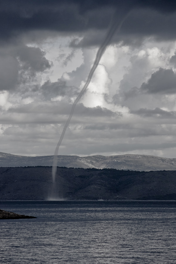 Photograph Waterspout by Ivan Galic on 500px