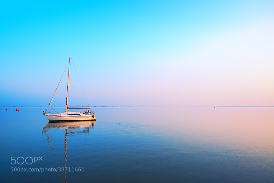 Photograph Calm Water at Dusk by Sanjin Jukic on 500px