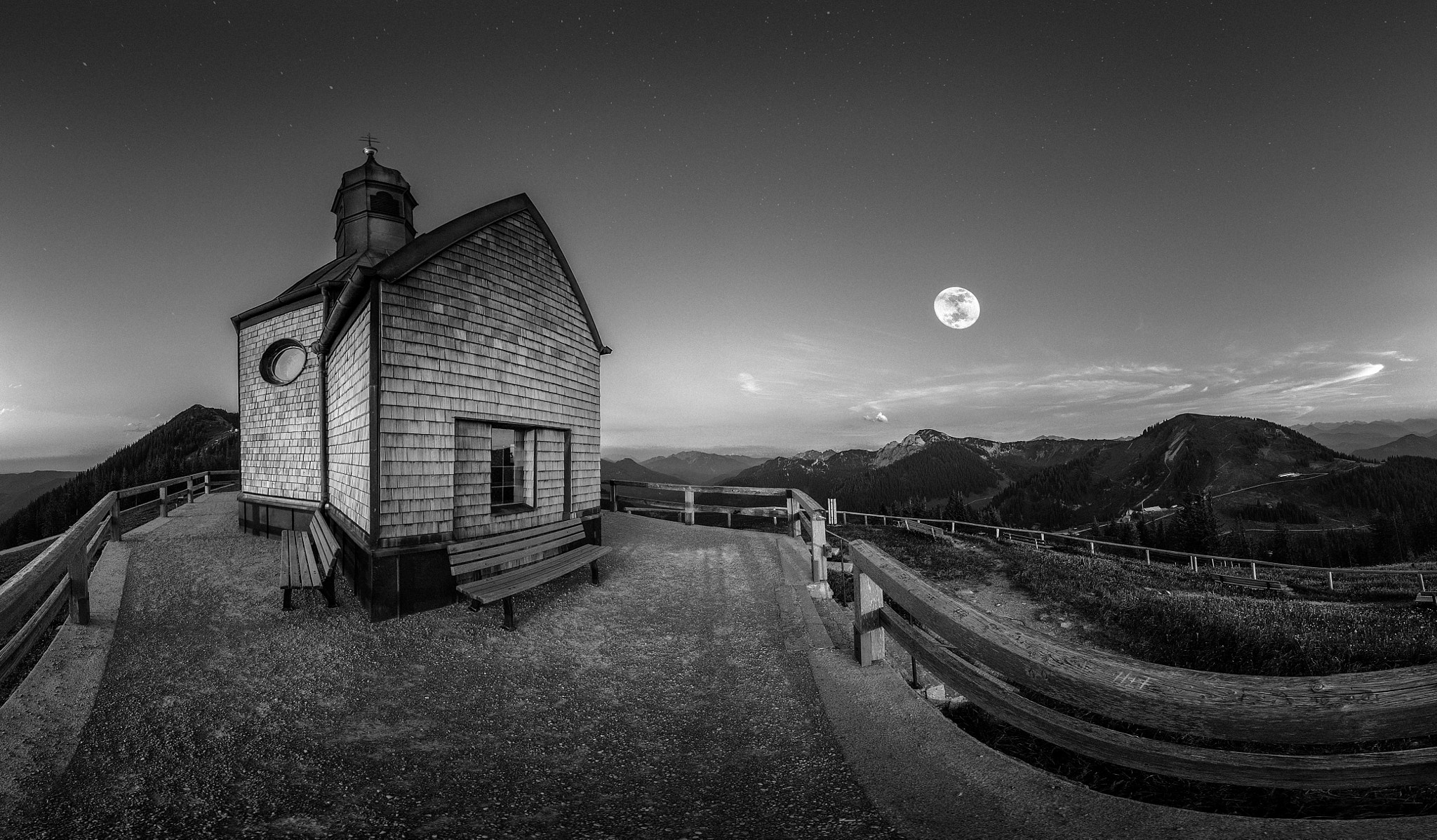 Photograph Bergnacht SW by Stefan Thaler on 500px
