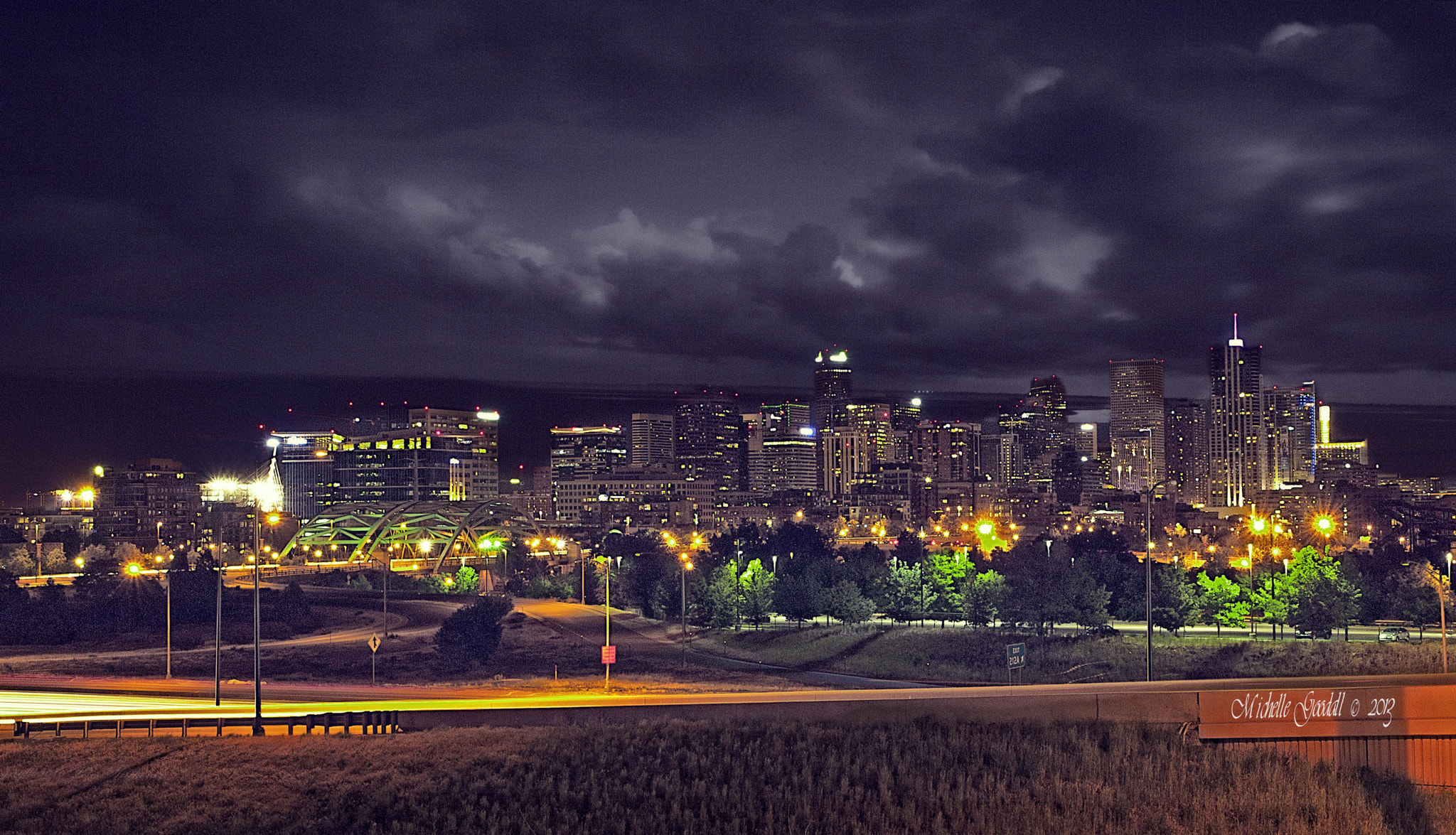 Photograph Denver skyline by Michelle Goodall on 500px