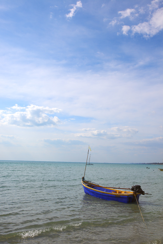 Photograph Blue Boat 2 by Hamad Al Naemi on 500px