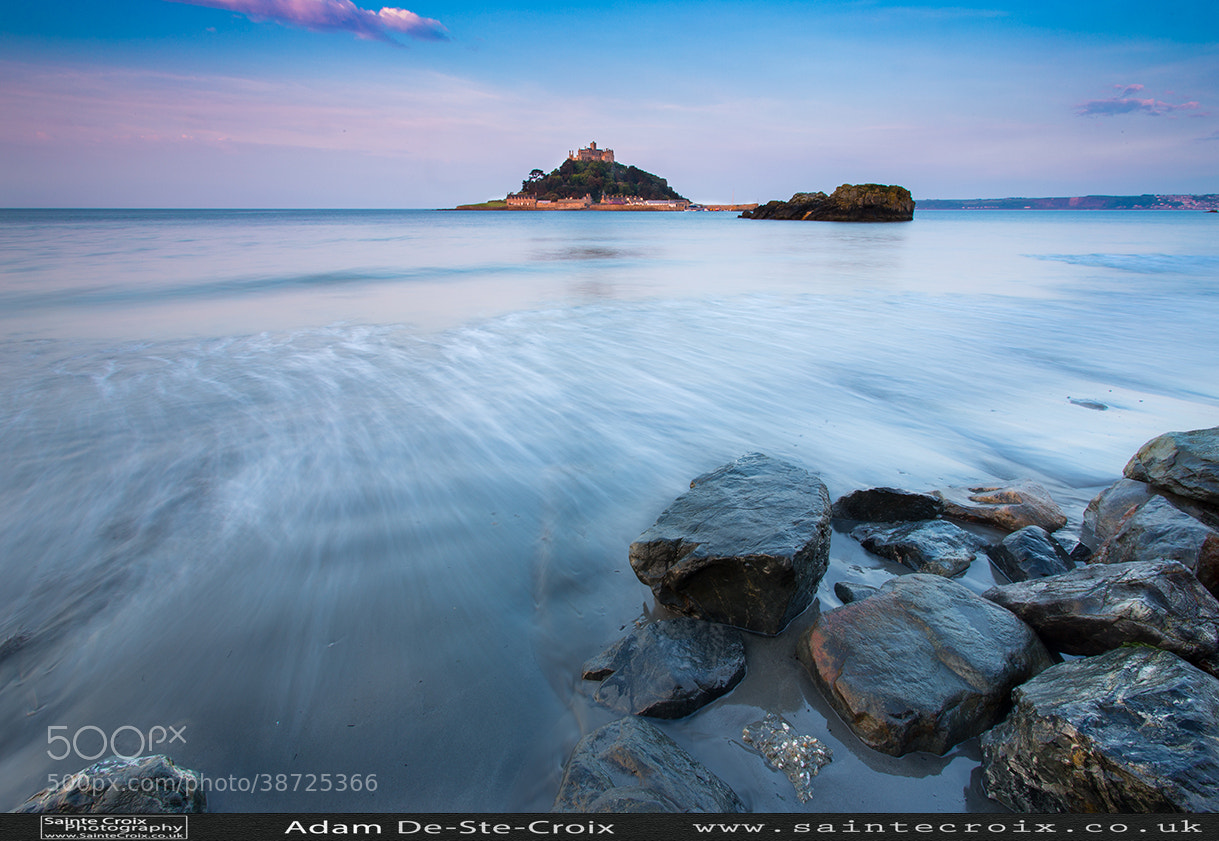 Photograph St Michaels Mount at Dawn, Cornwall, UK by Adam De-Ste-Croix on 500px