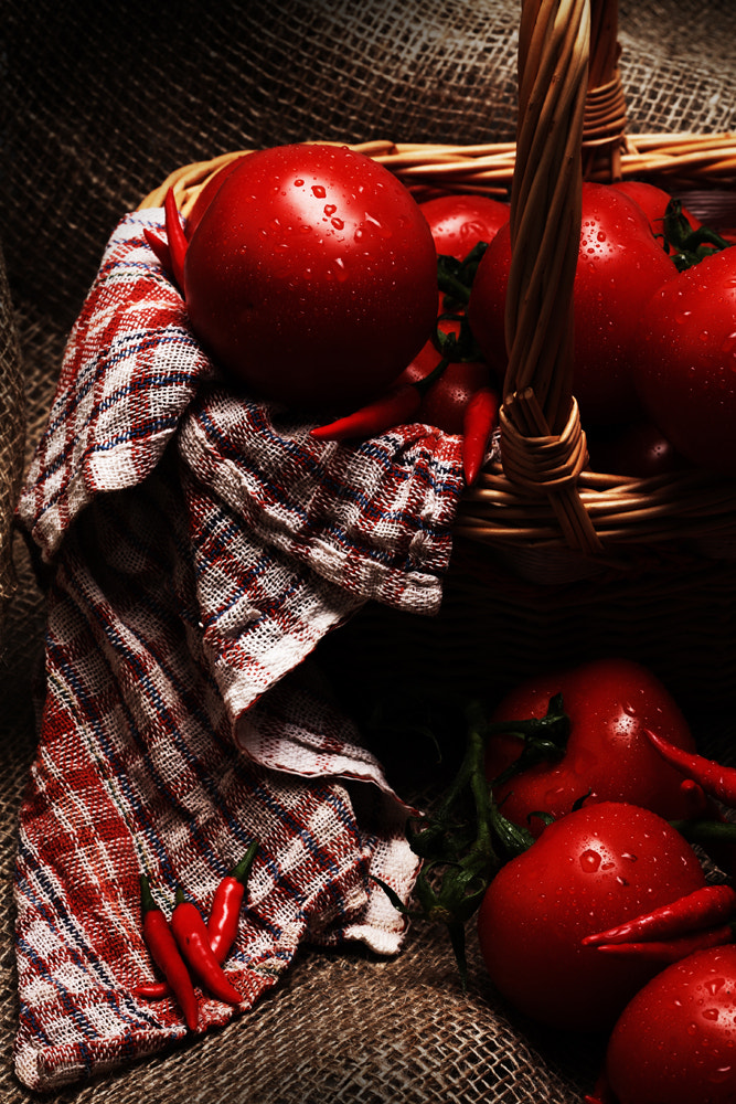 Photograph Tomatoes Basket by Hamad Al Naemi on 500px