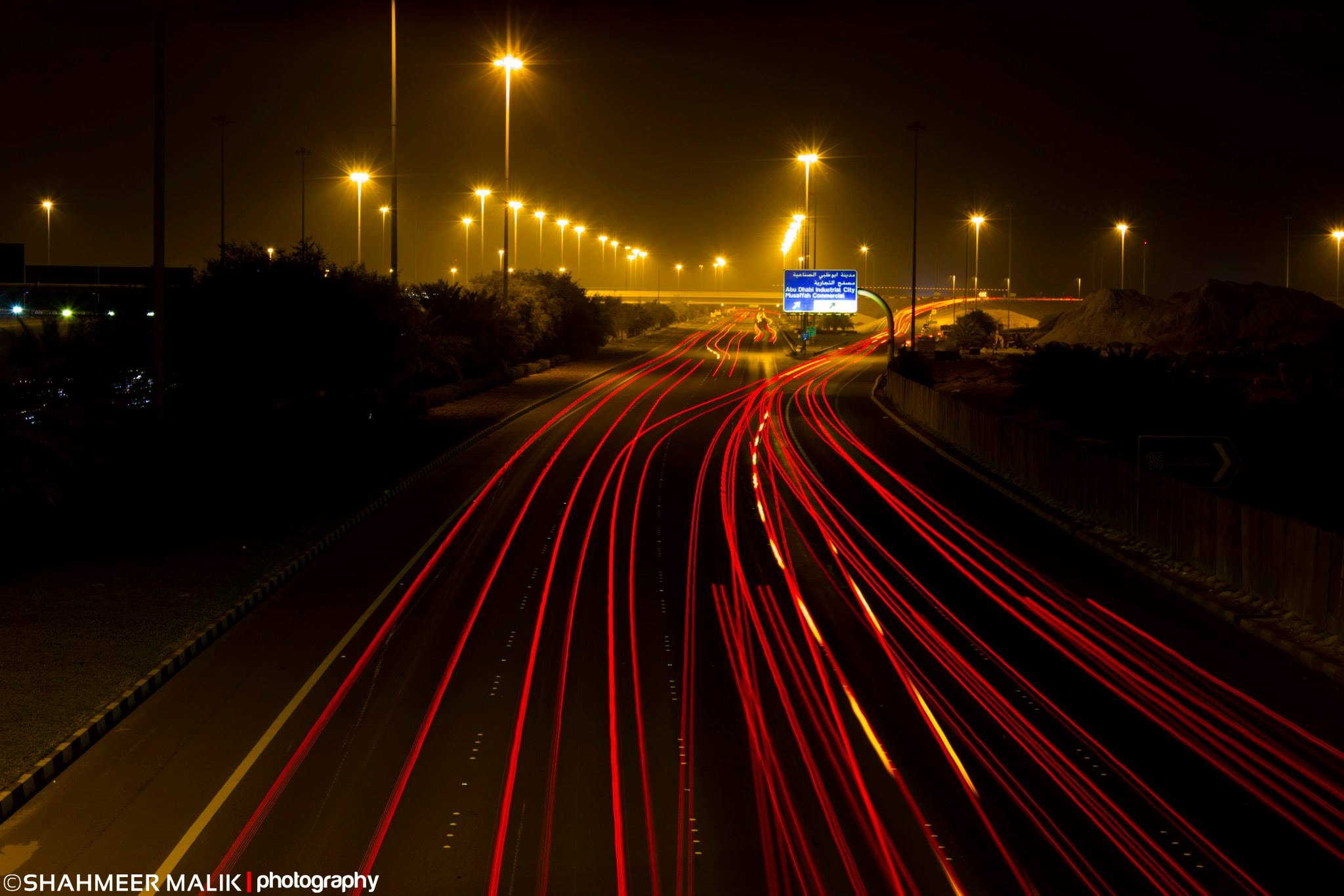 Photograph Car Light Trails by Shahmeer Malik on 500px