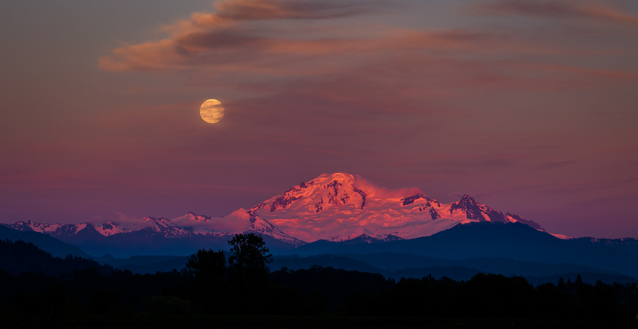 Photograph Super Moonrise 2013 by David D Dickie on 500px