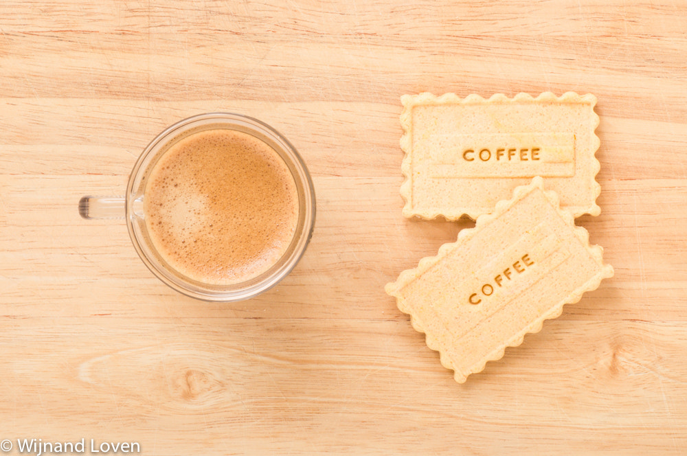 Photograph Two cookies with coffee by Wijnand Loven on 500px