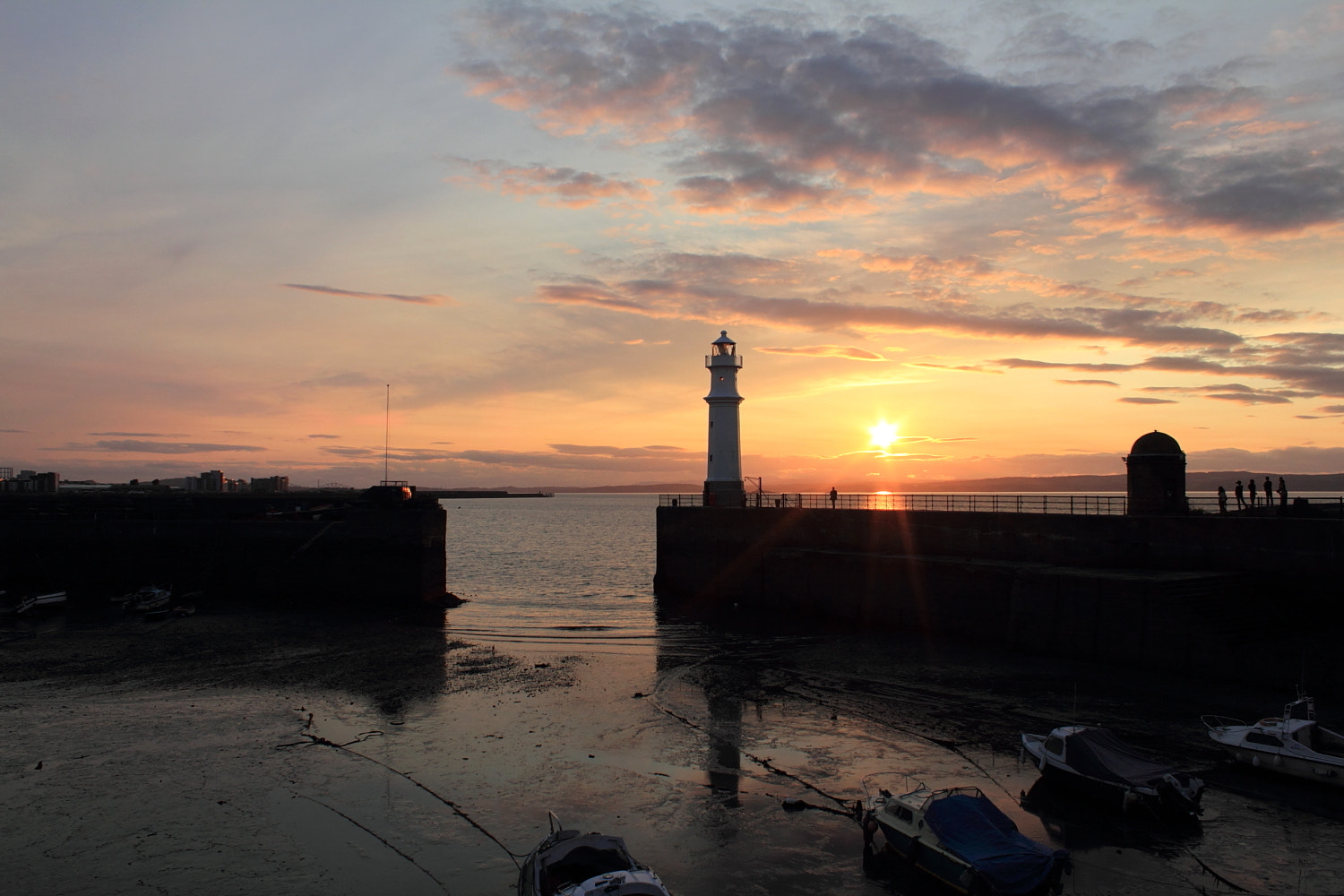 Photograph Newhaven Sunset by Carol  Gentle on 500px