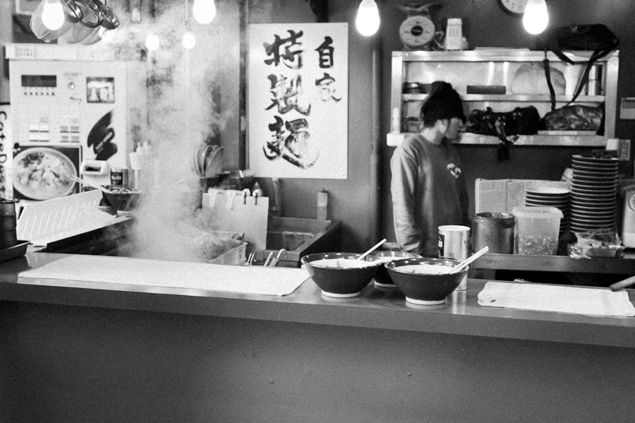 Photograph Cheap ramen shop in Osaka by Davide Petilli on 500px