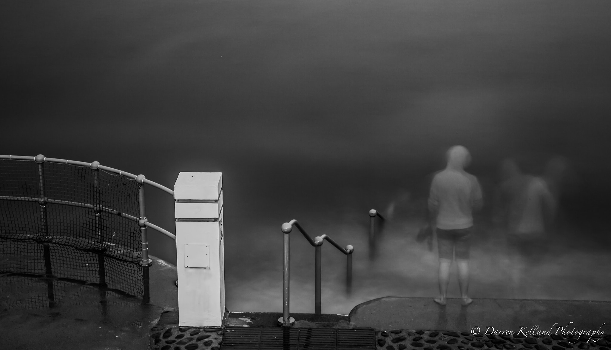 Photograph Ghosts at the bathing pool by Darren Kelland on 500px