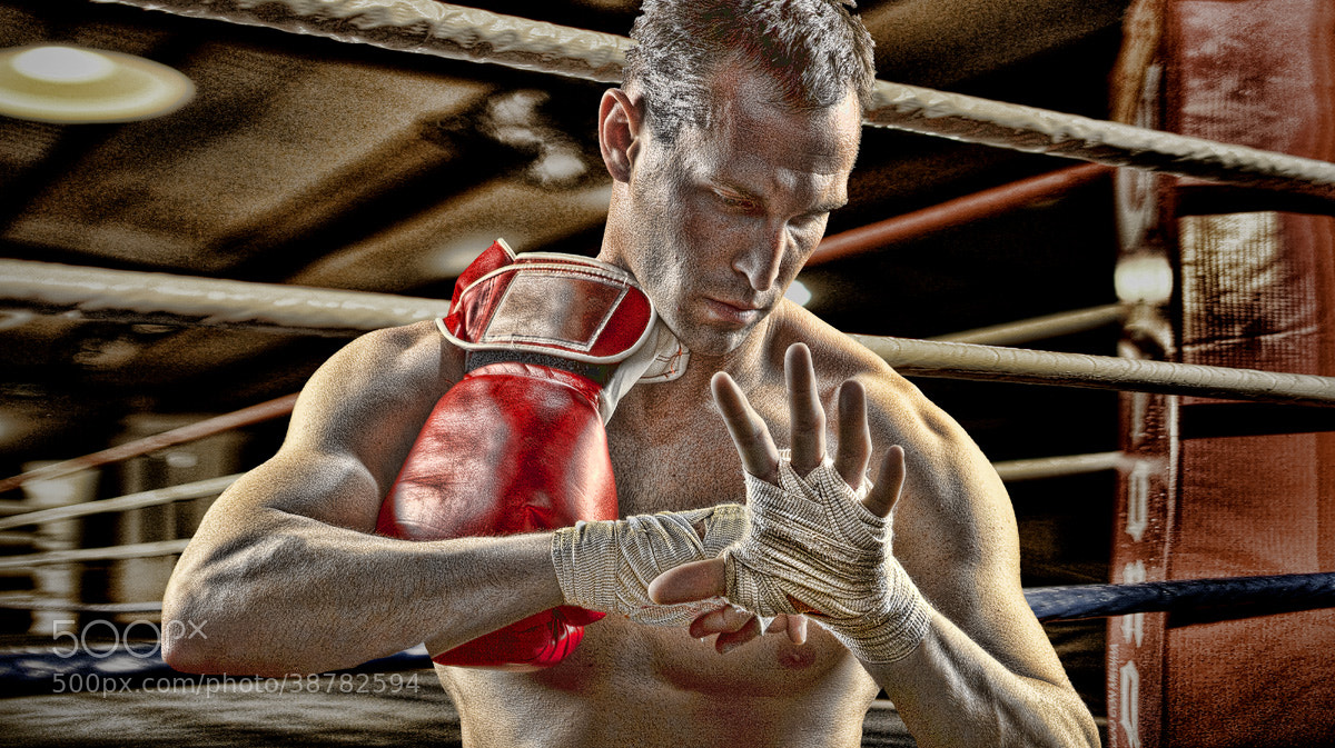 Photograph boxer outside ring by michael agliolo on 500px