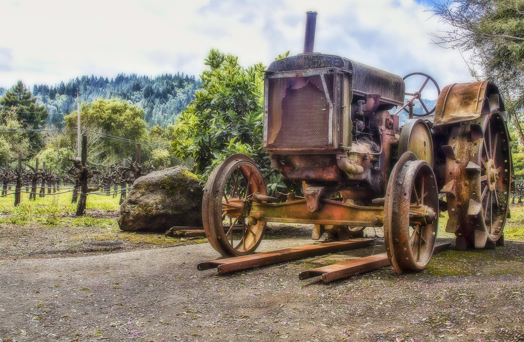 Photograph The Tractor by Brian Frank Snapshots and HDR on 500px