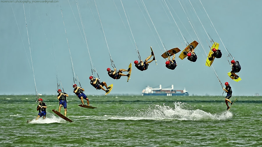 Pro-Kiteboarding Sequence by brownandbrown on 500px.com