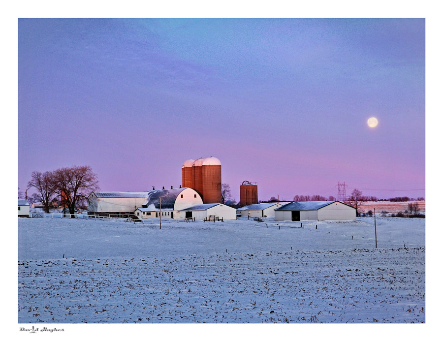 Farm Sunrise/Moonrise