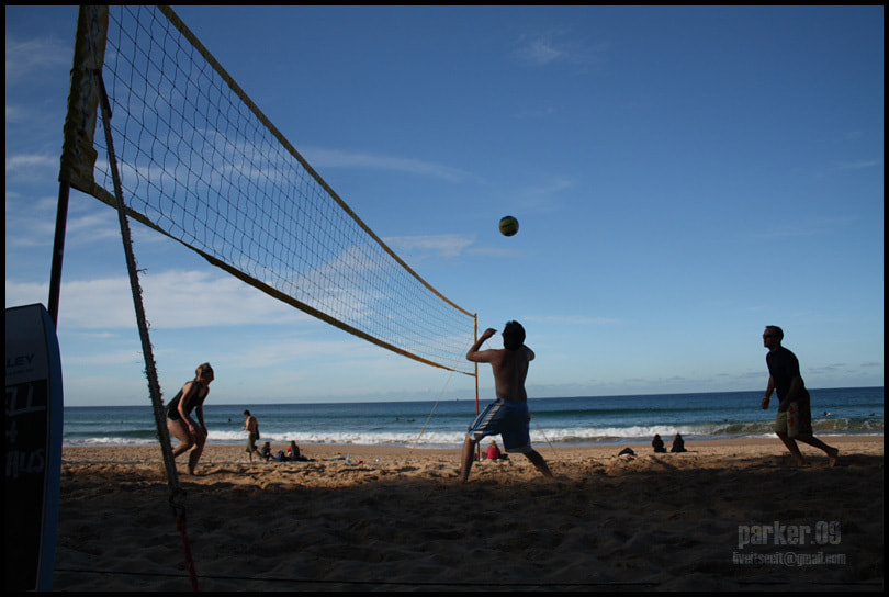 Photograph Manly Volleyball by Kyle  on 500px