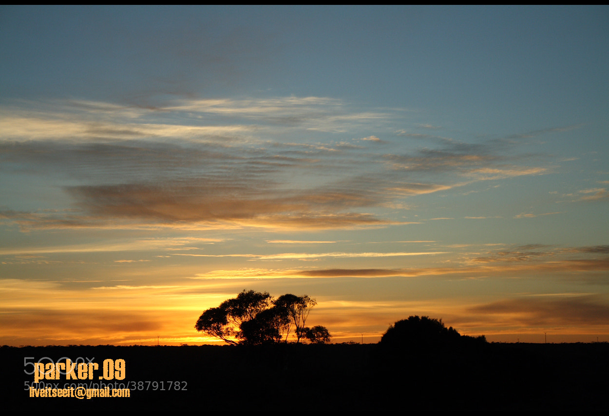 Photograph Sunset in the middle of Australia by Kyle  on 500px